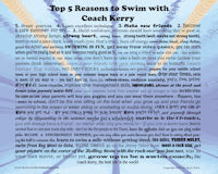 5 Reasons to Swim with Kerry Wick in Jacksonville